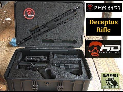 "Head Down ""Deceptus"" Breakdown AR 15 Rifle Review - YouTube"