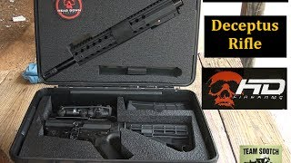 "Head Down ""Deceptus"" Breakdown AR 15 Rifle Review"