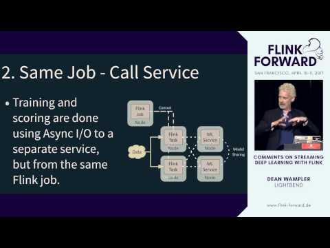 #FlinkForward SF 2017: Dean Wampler - Streaming Deep Learning Scenarios With Flink