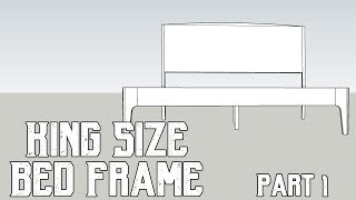 Video Making A King Size Bed - My Design Process / Design Considerations When Designing Your Own Bed Frame download MP3, 3GP, MP4, WEBM, AVI, FLV September 2017