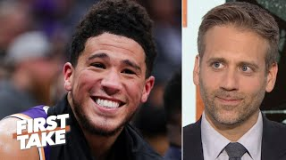 Max Kellerman no longer thinks Devin Booker is overrated | First Take