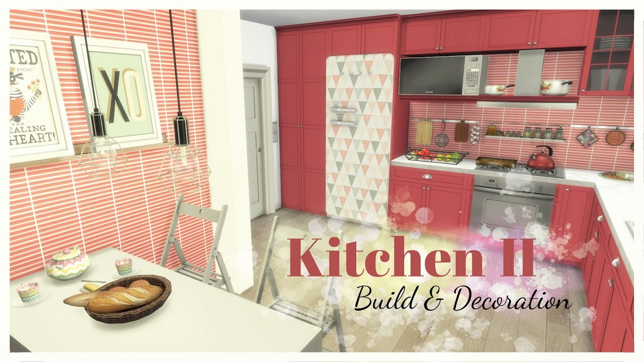 Sims 4   Kitchen II (Room + Mods For Download)   YouTube