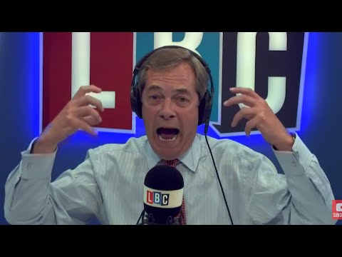 The Nigel Farage Show: Trump's UN Speech. Live LBC - 19th September 2017