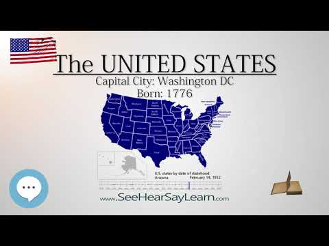 The United States  | EYNTK about The States & Territories ❤️🌎🔊