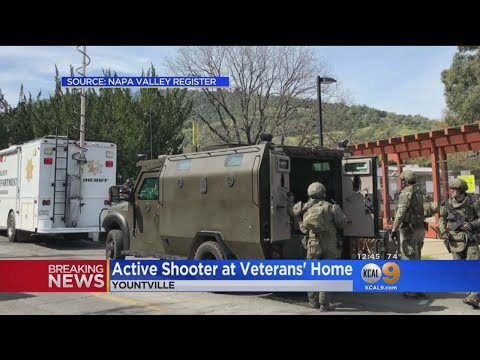 Gunman Takes Hostages At NorCal Veterans Home