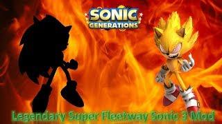 Sonic Generations PC Mod Part 211 Fleetway Super Sonic 3 Mod 1080p60fps
