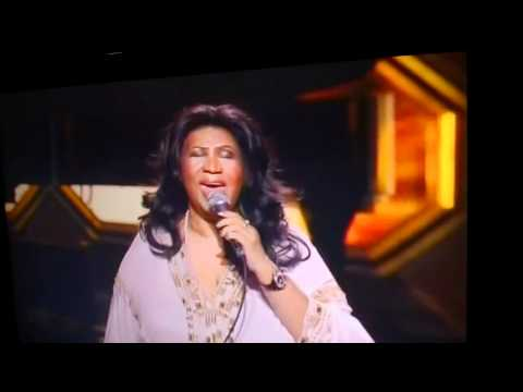 Aretha Franklin singing Respect on the TV Land Awards 2012 music