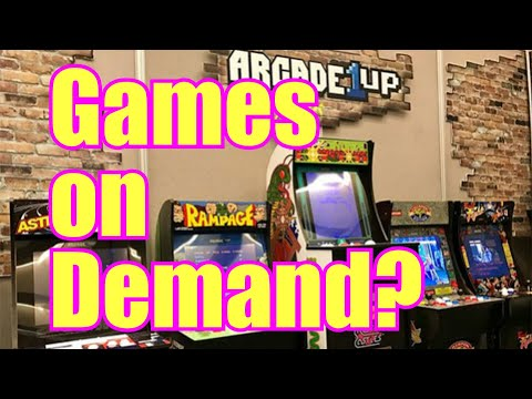 Arcade1up - Adding extra games possible as 12 game limit going away? from Evil Genius Entertainment