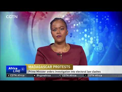 Violent clashes at Madagascar opposition protest