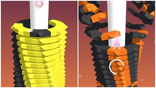 STACK BALL FUNNY GAME #14 | RELAX 3D GAME ON ANDROID/IOS screenshot 4
