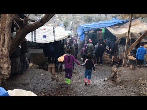 Greece to shut down 20,000 person refugee camp designed for 3,000 on Lesbos