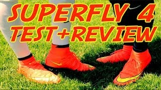 Nike Mercurial Superfly 4 TEST + Review | NEW Cristiano Ronaldo Boots 2014 | by 10BRA