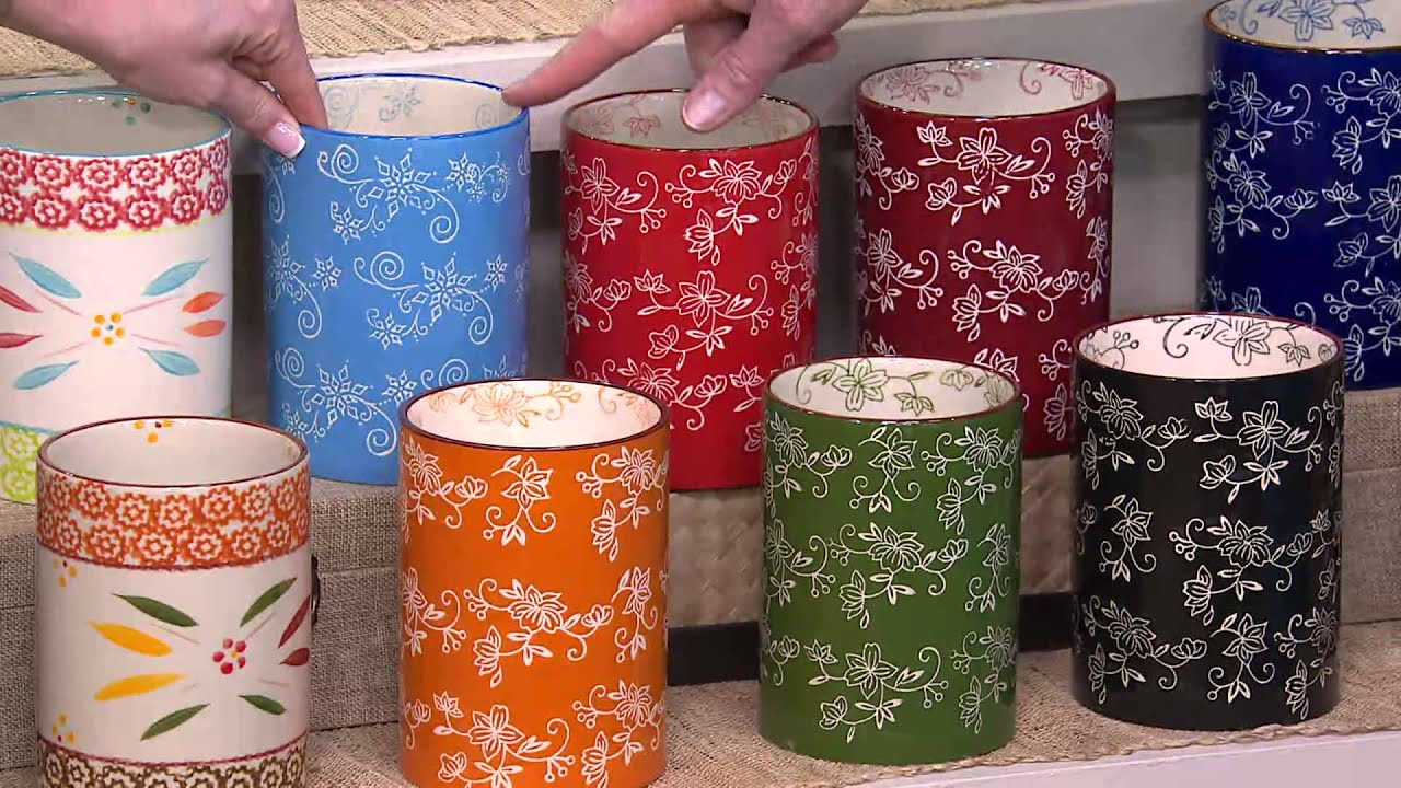 Temp Tations Old World Or Floral Lace Utensil Holder With Rick Domeier Youtube