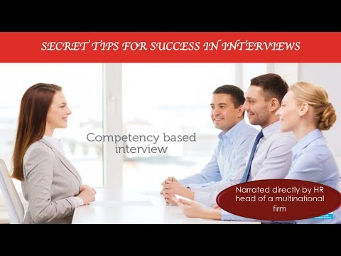 Secret tips for success in Corporate & Multinational company interviews