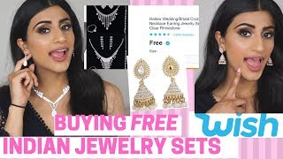 """BUYING """"FREE"""" INDIAN JEWELRY FROM WISH"""