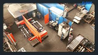 CLOOS - QIROX-Roboter schweißen Fitnessgeräte
