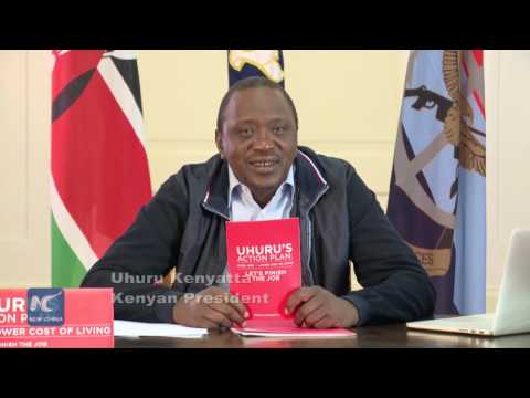 Unique social media campaign by Kenyan President in re-election quest