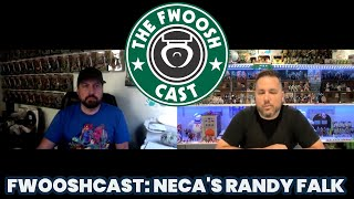 FwooshCast EP. 62! NECA's Randy Falk and All Of Their Comic Con Reveals!