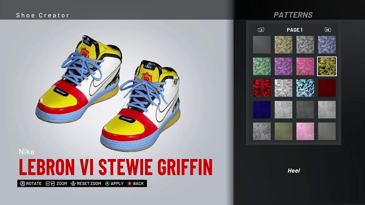 266d16fa0aa5d NBA 2K19 Shoe Creator - Nike LeBron 6