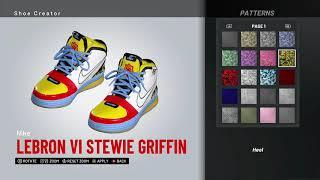 NBA 2K19 Shoe Creator - Nike LeBron 6