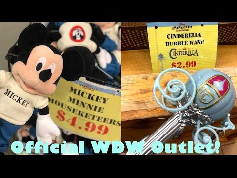 DISNEY OUTLET SHOPPING | CHARACTER WAREHOUSE [8/7/19]