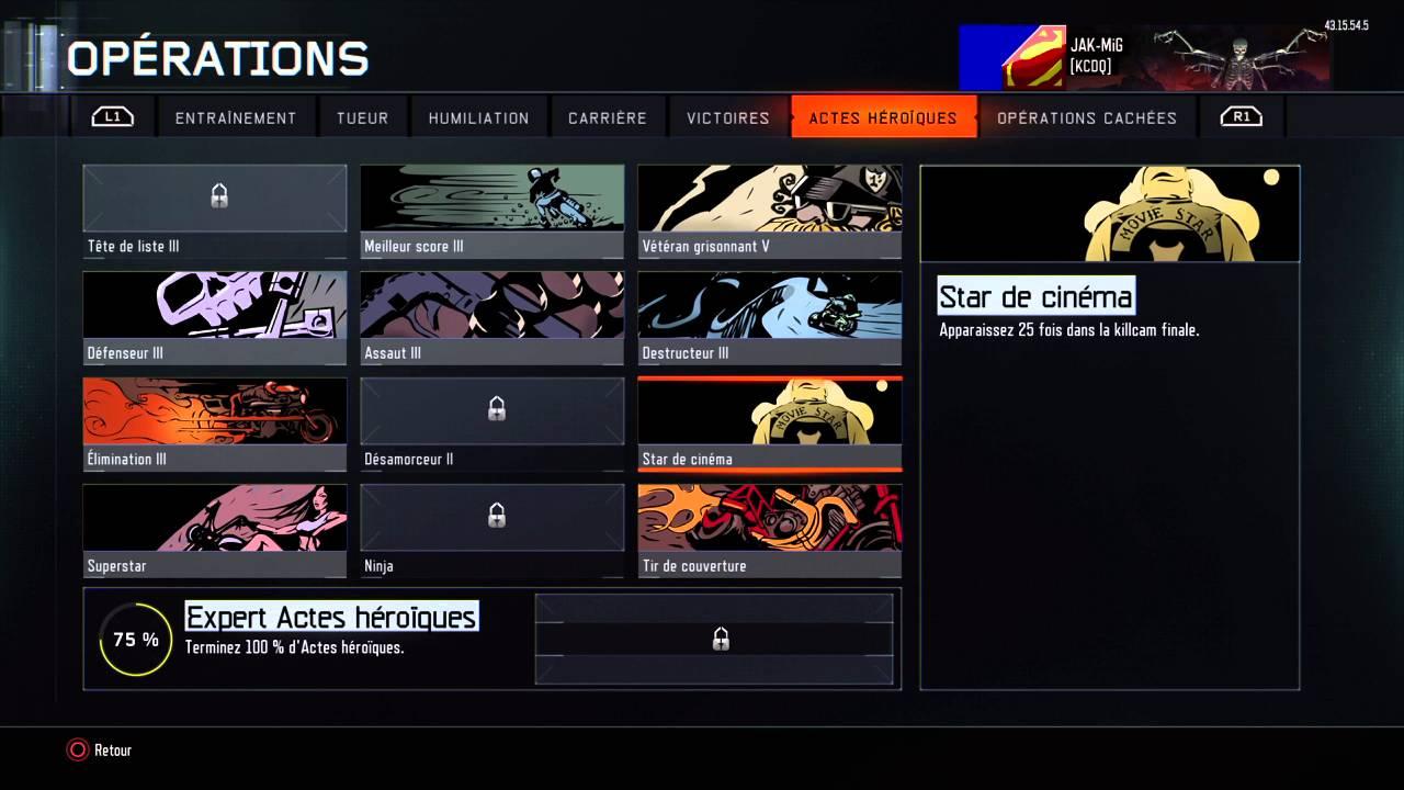 Defis Cartes De Visite Black Ops 3