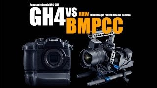 Panasonic GH4 VS Black Magic Pocket Cinema Camera RAW (Which one is better?)