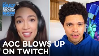 U.S. Takes On Google, AOC's on Twitch & Trump Pays Taxes in China | The Daily Social Distancing Show