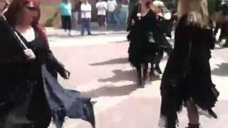 Alison Crook - Morris dancing 2