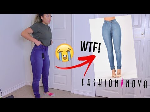 I Spent $300 On Fashion Nova Jeans // Size 3, 5, 7 // Test It Tuesday
