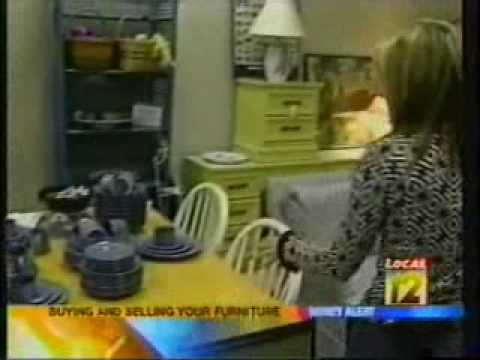 Jennifer visits a Cincinnati consignment store and furniture store.