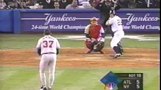 Chad Curtis 1999 World Series Walk off