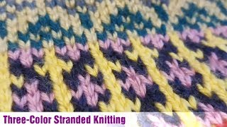 Three-Color Stranded Knitting