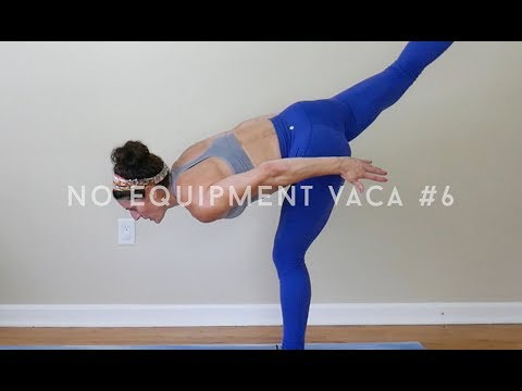No Equipment full body Vacation Workout #6