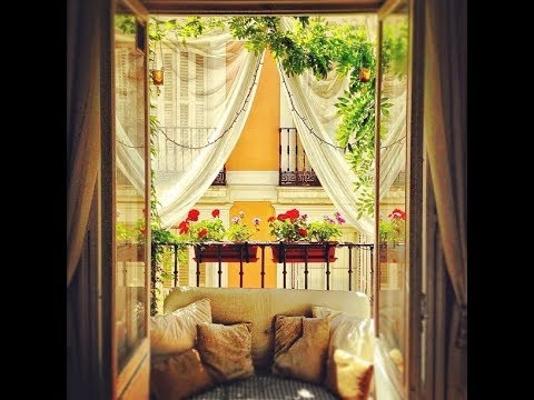Small Balconies: Best makeover Ideas For Furnishing Accessories Decoration