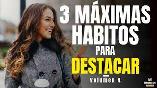 3 MAXIMAS HABITOS PARA DESTACAR (Enfoque el Poder de los Habitos en tu Productividad Personal)
