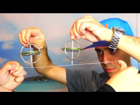 TOP 10 Gyroscope Tricks Stunts and Science Experiments