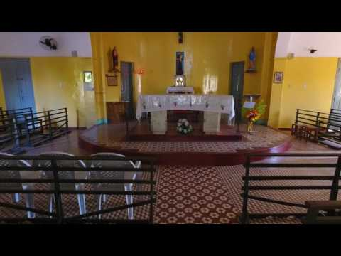 Imagens aérea da Igreja Matriz de São Félix do Piauí