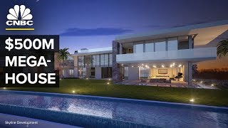 Exclusive Look At LA's $500 Million Mega-House | CNBC
