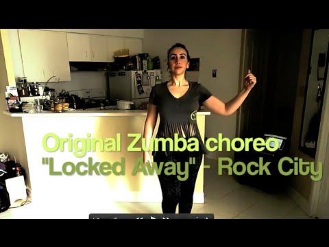 """Locked Away"" (Rock City ft Adam Levine) Zumba ..."