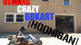 HOONING CRAZY GOKART!!!!
