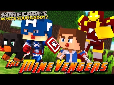 Minecraft Adventure - WHO'S YOUR DADDY w/ Baby Donut the Dog & Baby Little Donny