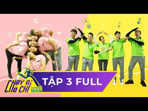 Chạy Đi Chờ Chi|Tập 3 FULL|Trấn Thành,Ưng Hoàng Phúc mệt lả cuộc đua đĩa nhạc | Running Man ViệtNam