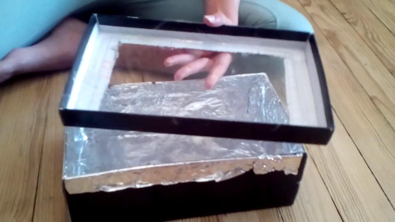 comment faire un four solaire magique youtube. Black Bedroom Furniture Sets. Home Design Ideas