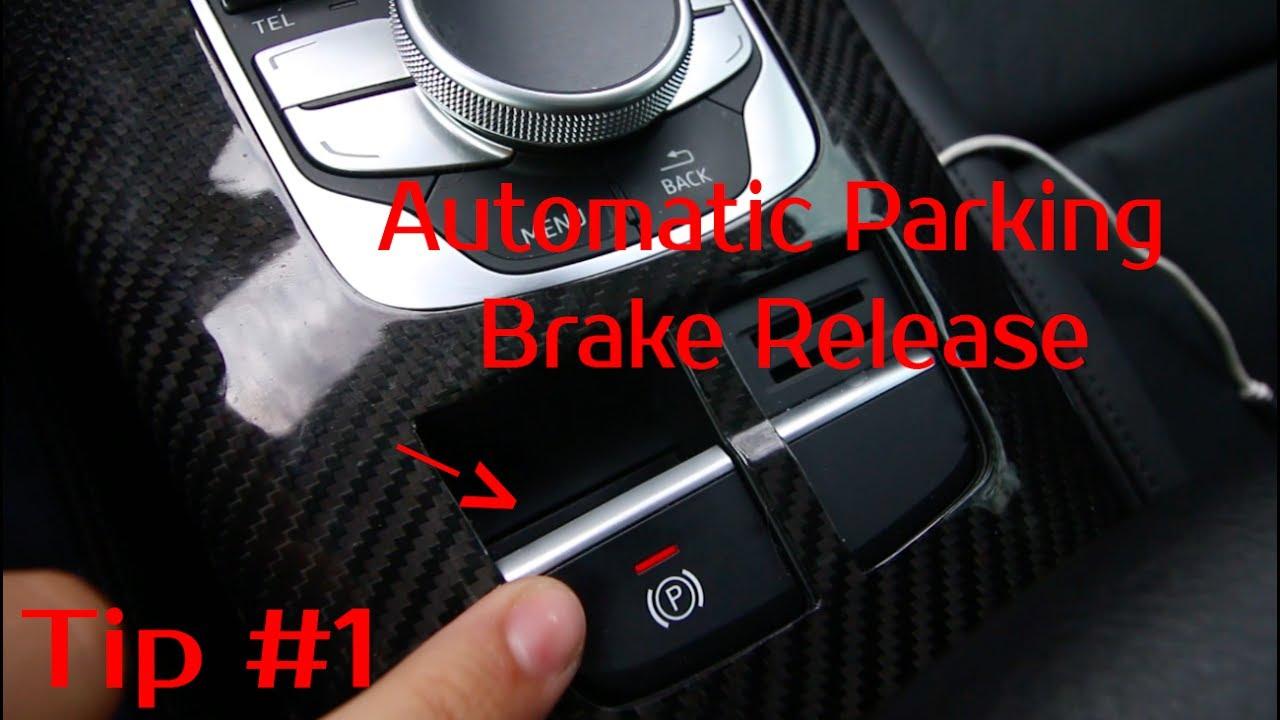 2015 Audi A3 Tip #1 | Parking Brake Release