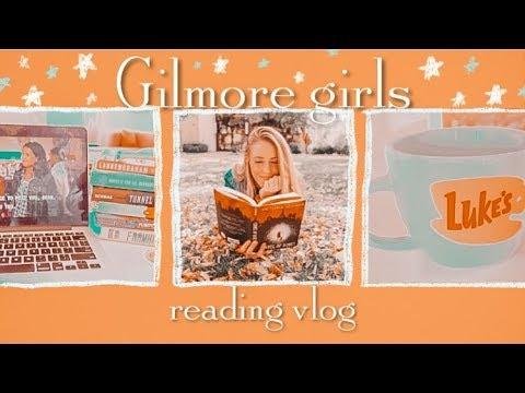 🍁Gilmore Girls Reading Vlog 🍁