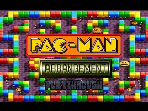 Pac-Man Arrangement Playthrough