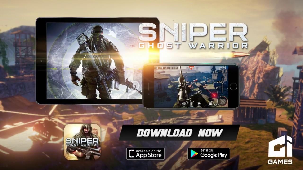 Sniper: Ghost Warrior mobile version – Trailer