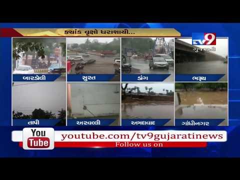 Parts of Gujarat get respite from heat as rain arrives | Tv9GujaratiNews