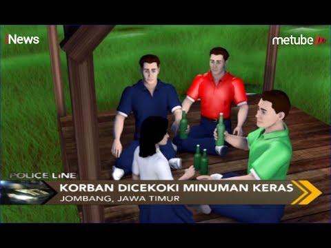Siswi SMP Di Jombang Dipaksa Minum Miras Dan Diperkosa Di Tengah Sawah - Police Line 26/08